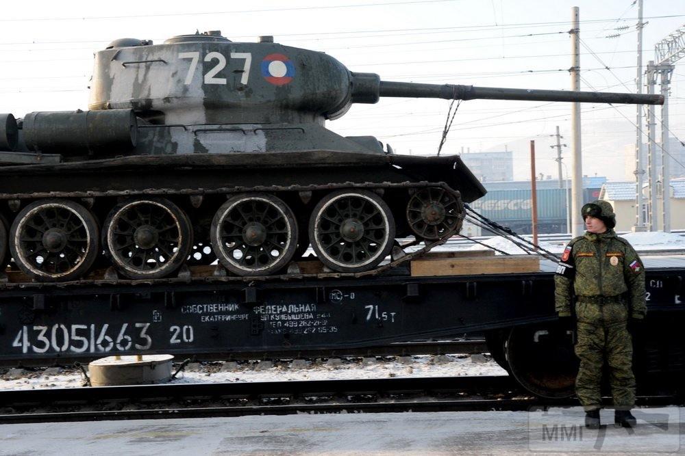 44163 - Послевоенное использование советской бронетехники WW2