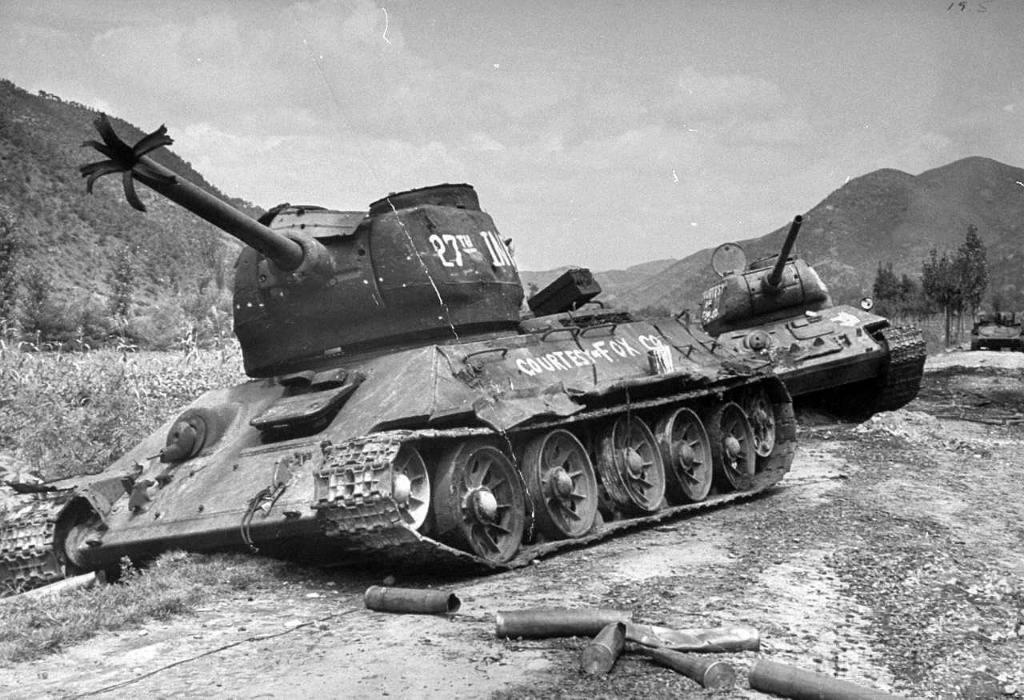 4434 - Война в Корее (25.06.1950 - 27.07.1953)