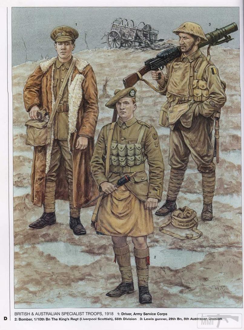 44378 - Первая Мировая, солдаты стран участниц.