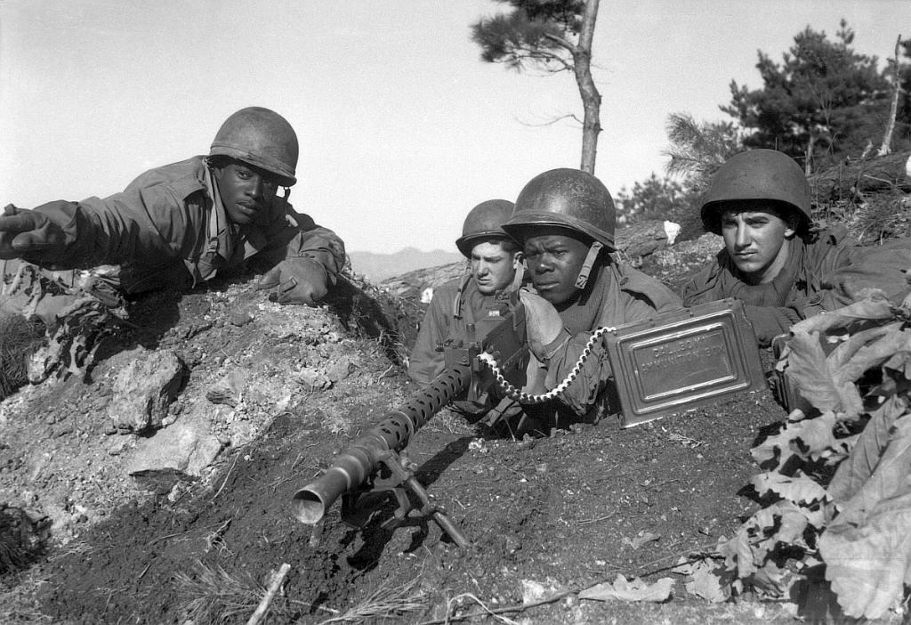 4438 - Война в Корее (25.06.1950 - 27.07.1953)