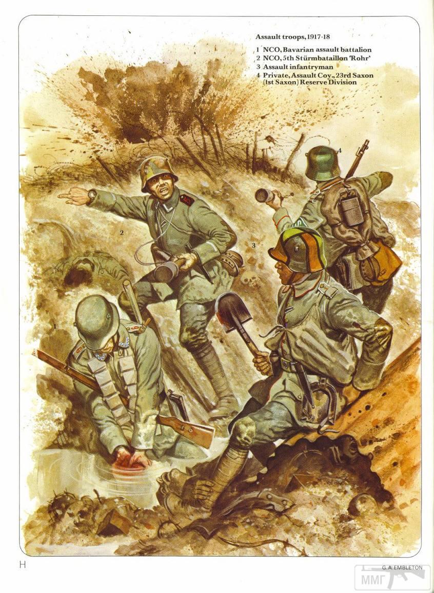 44389 - Первая Мировая, солдаты стран участниц.