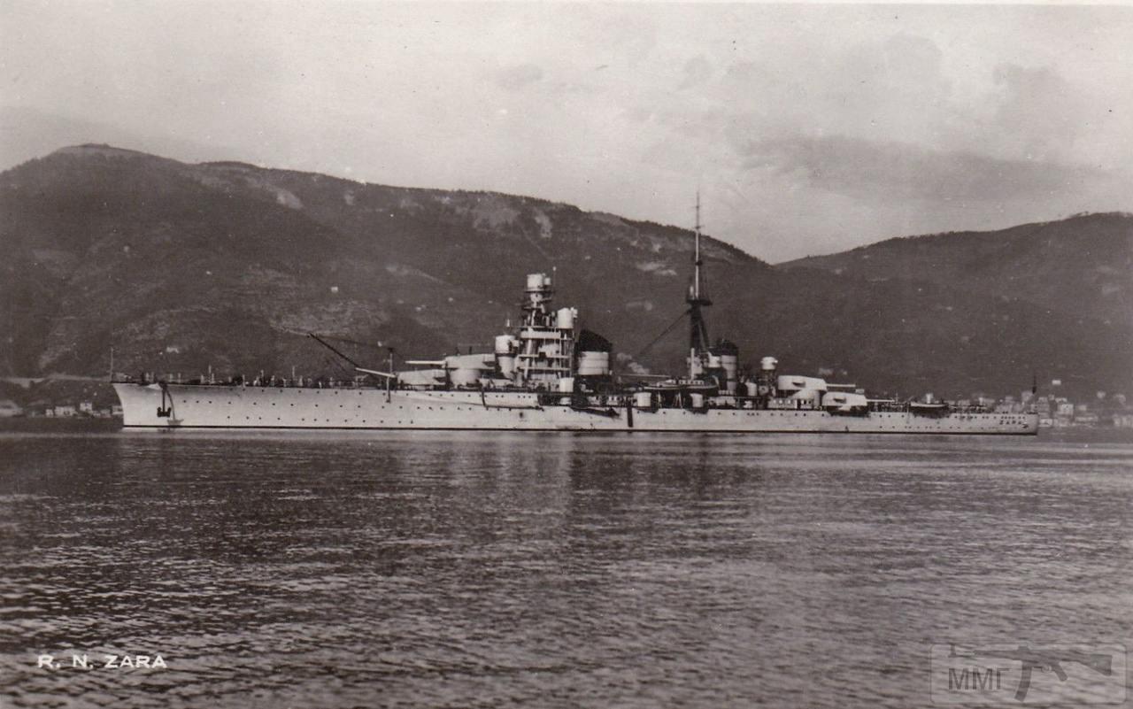 44400 - Тяжелый крейсер Zara в Специи
