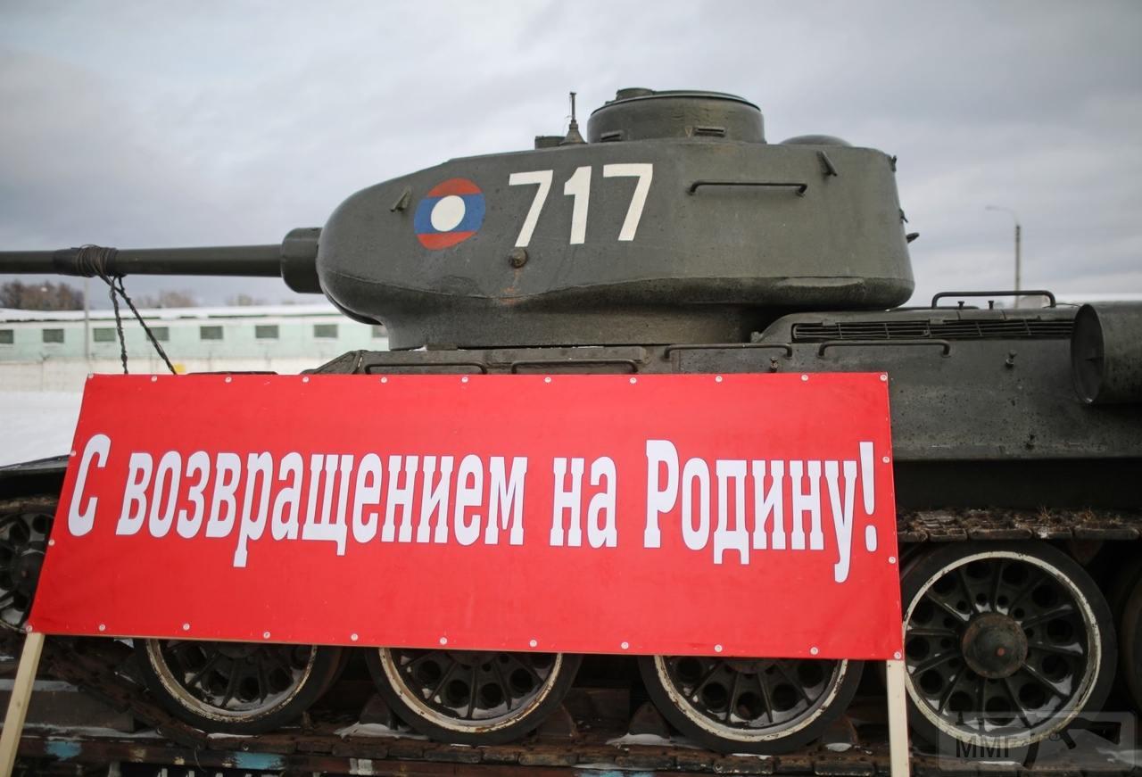44457 - Послевоенное использование советской бронетехники WW2
