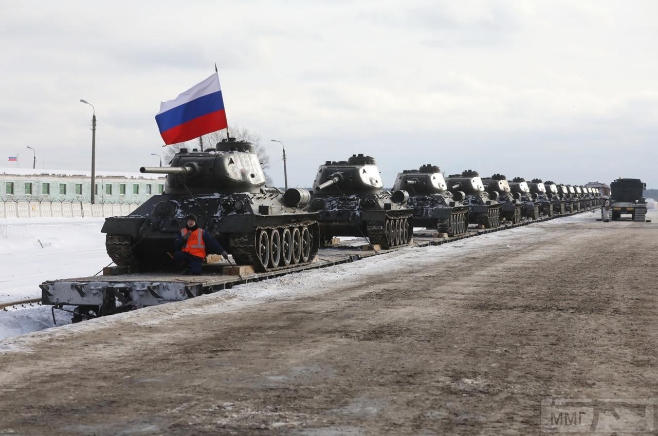 44458 - Послевоенное использование советской бронетехники WW2