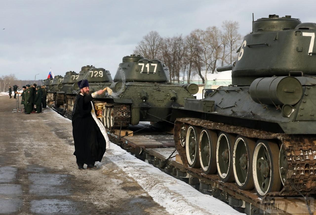 44460 - Послевоенное использование советской бронетехники WW2