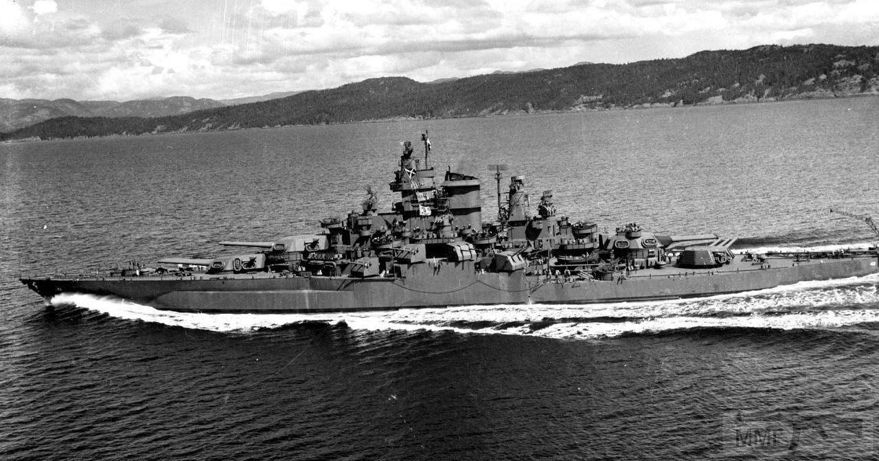 44488 - USS Tennessee (BB-43)