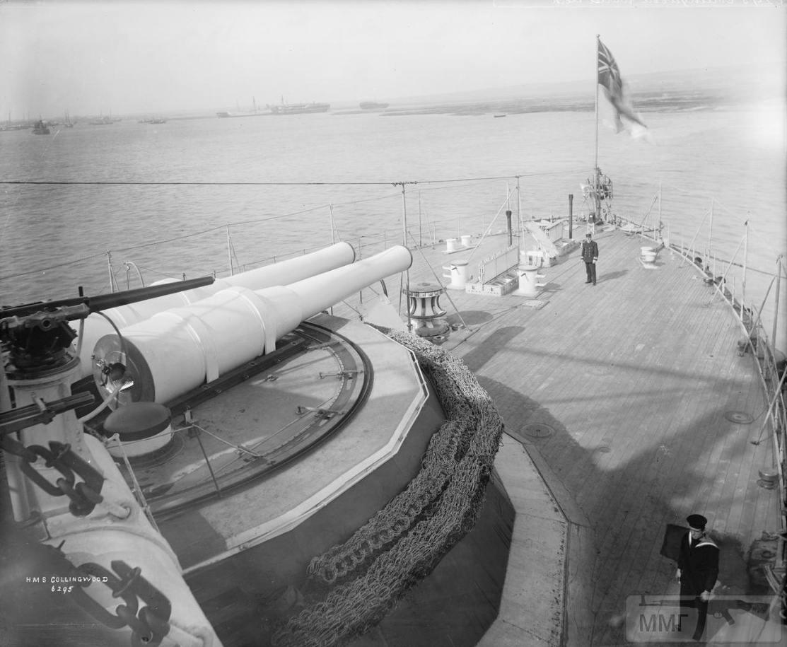 """44534 - Кормовой барбет 12""""/25 (305 мм.) Mark Vw орудий броненосца HMS Collingwood"""