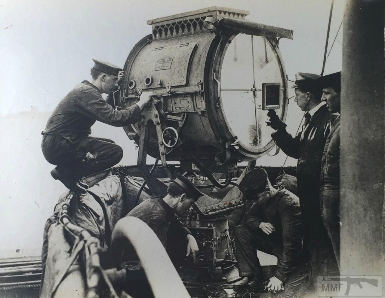 44589 - Калибровка 36-дюймового (91,4-см) прожектора HMS Royal Oak