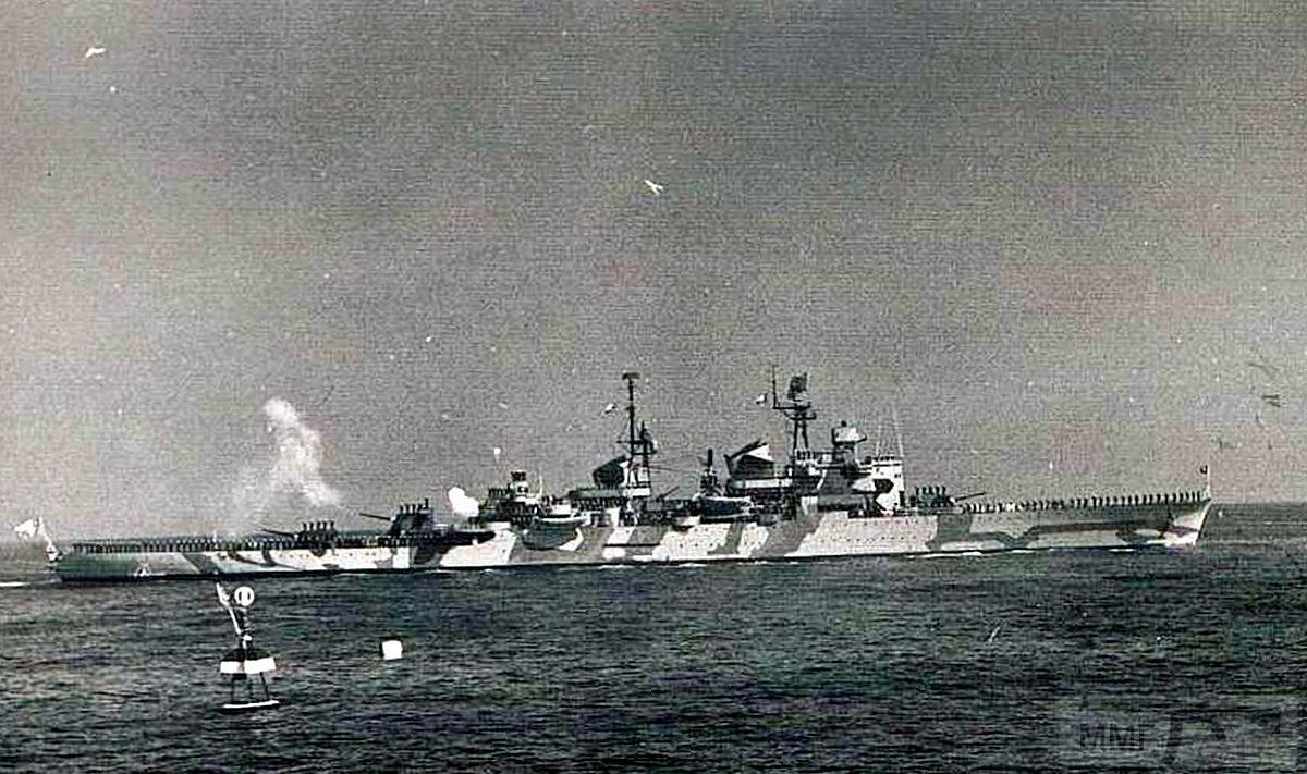 44747 - Легкий крейсер Almirante Latorre ВМС Чили, бывший шведский Gota Lejon