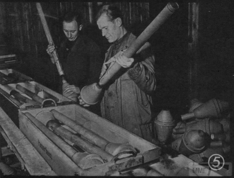 44939 - Ручной противотанковый гранатомет Panzerfaust (Faustpatrone)