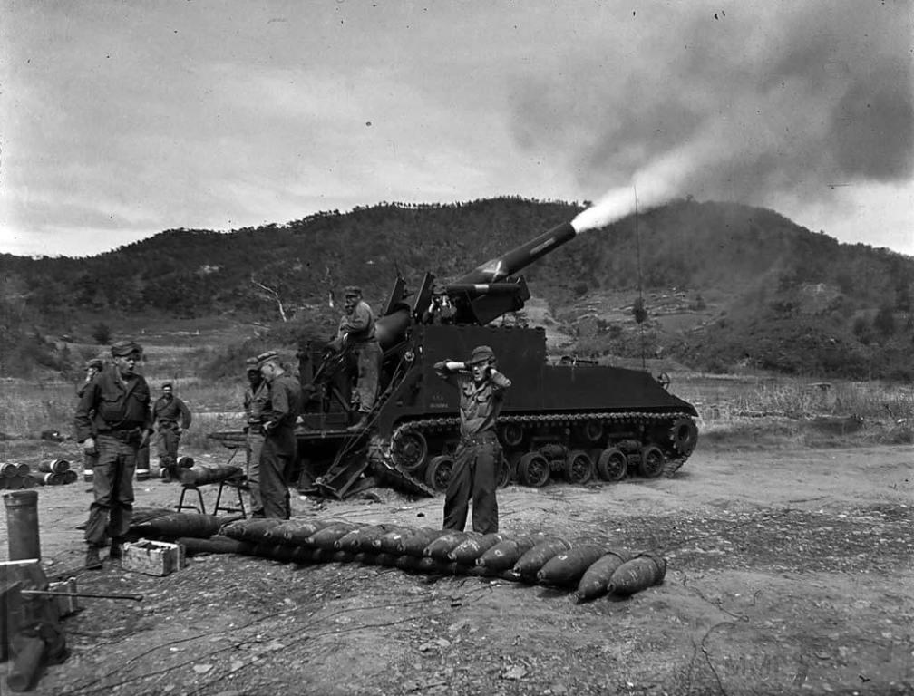4515 - Война в Корее (25.06.1950 - 27.07.1953)