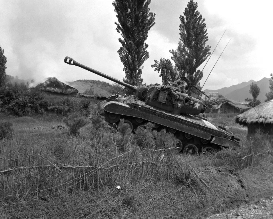 4516 - Война в Корее (25.06.1950 - 27.07.1953)