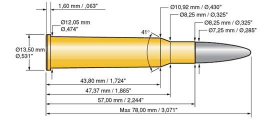 4544 - Патрон 7x57R Черт:еж