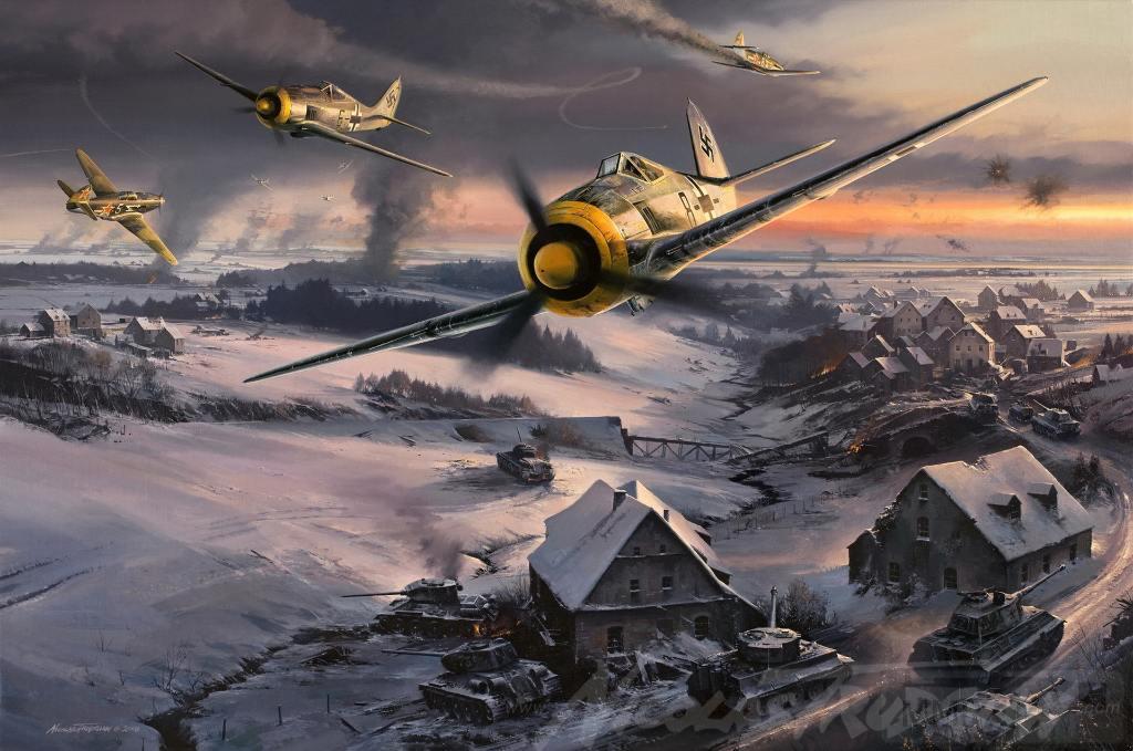 4563 - Самолеты Luftwaffe