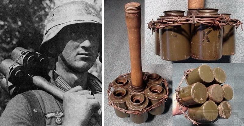4573 - Гранаты Германской армии WW2