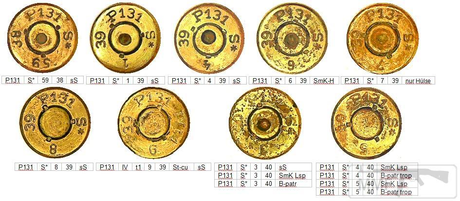 45736 - Патрон 7,92x57 «Маузер» - виды, маркировка, история