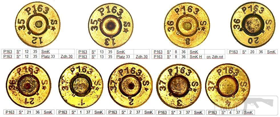 45754 - Патрон 7,92x57 «Маузер» - виды, маркировка, история