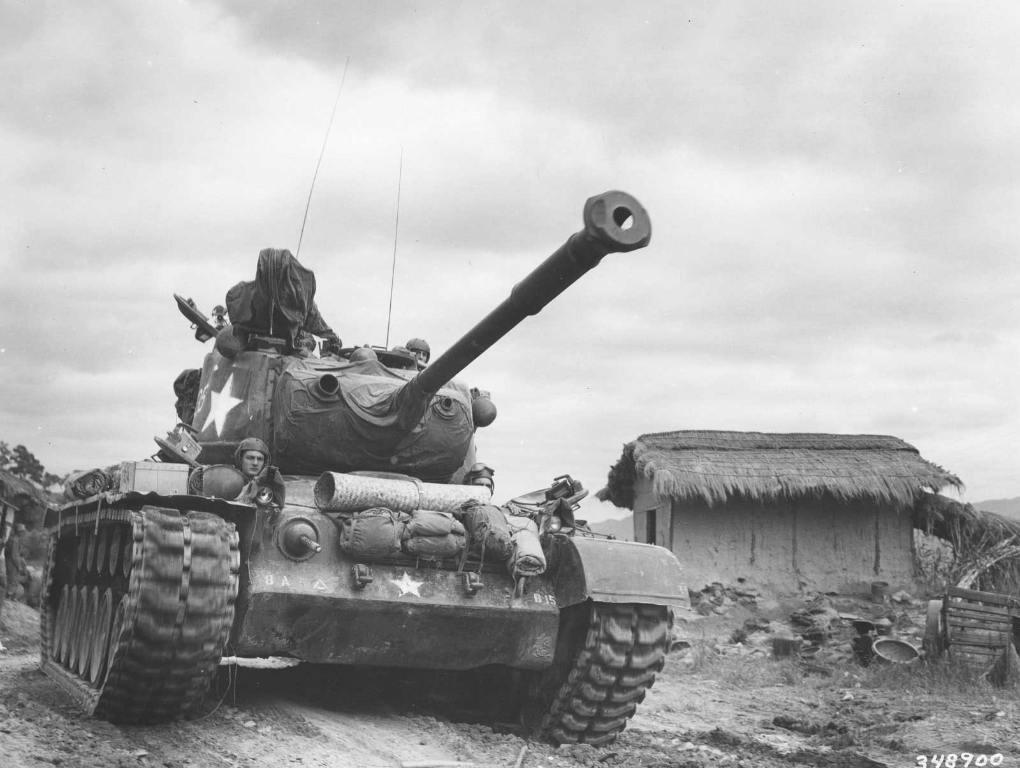 4576 - Война в Корее (25.06.1950 - 27.07.1953)