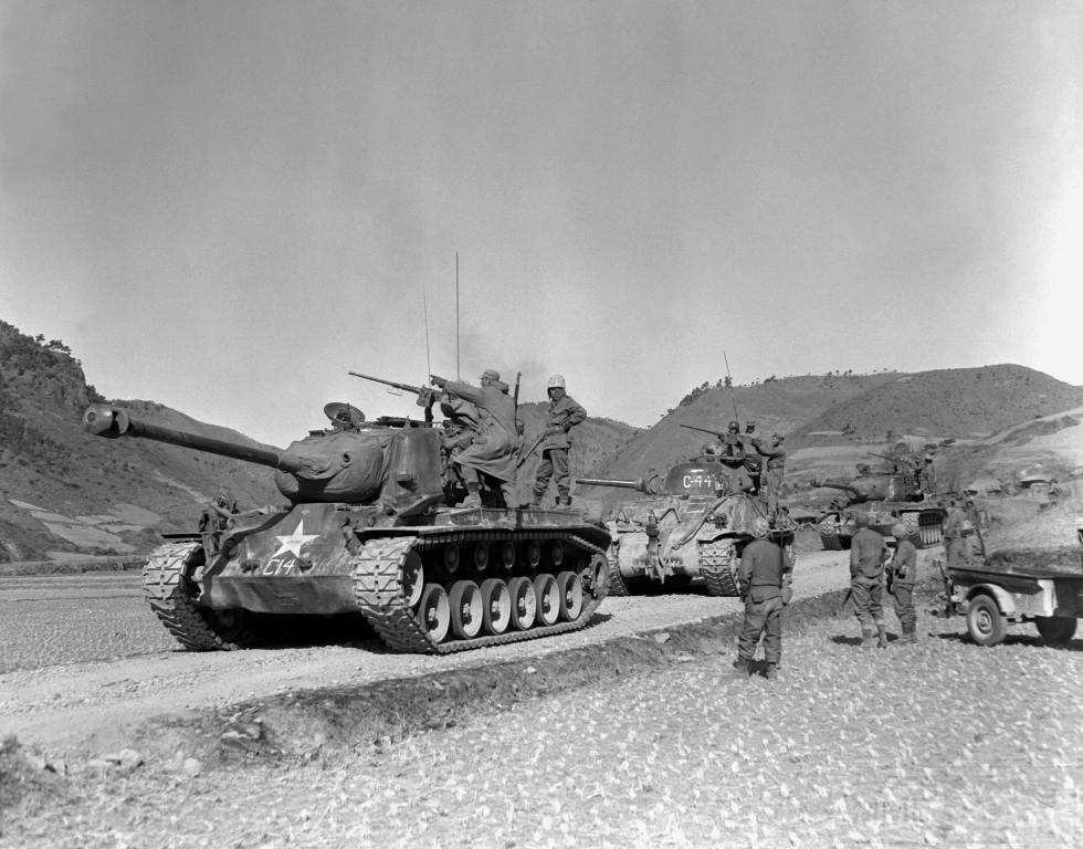 4577 - Война в Корее (25.06.1950 - 27.07.1953)