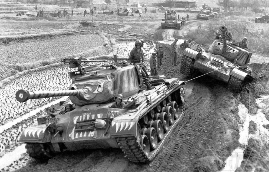 4578 - Война в Корее (25.06.1950 - 27.07.1953)