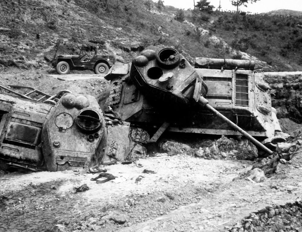 4581 - Война в Корее (25.06.1950 - 27.07.1953)