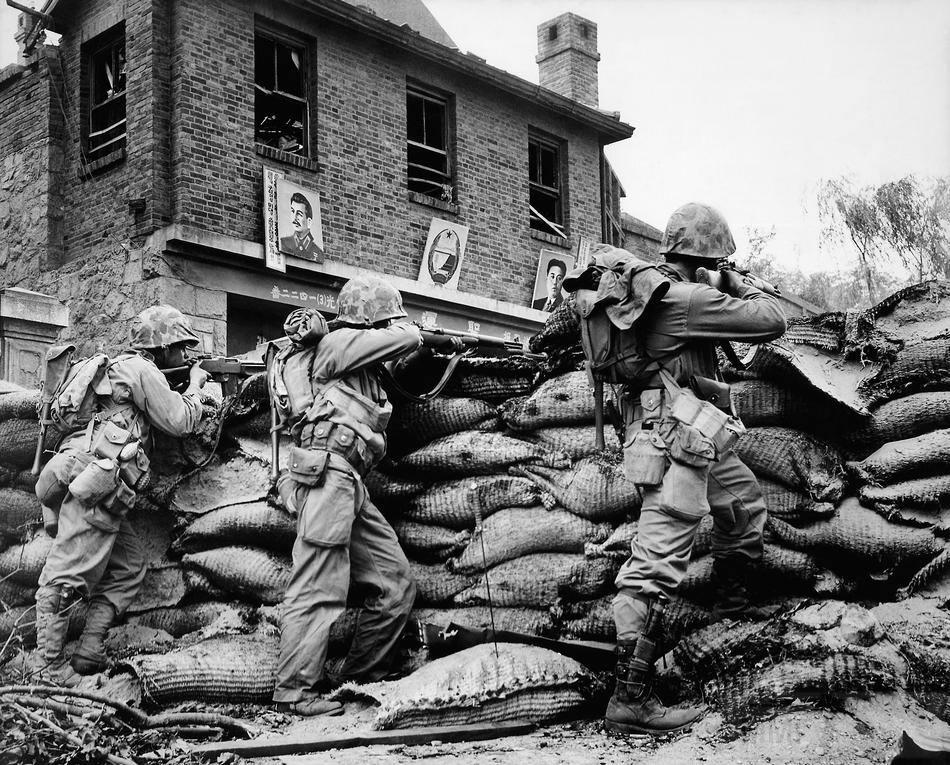 4583 - Война в Корее (25.06.1950 - 27.07.1953)