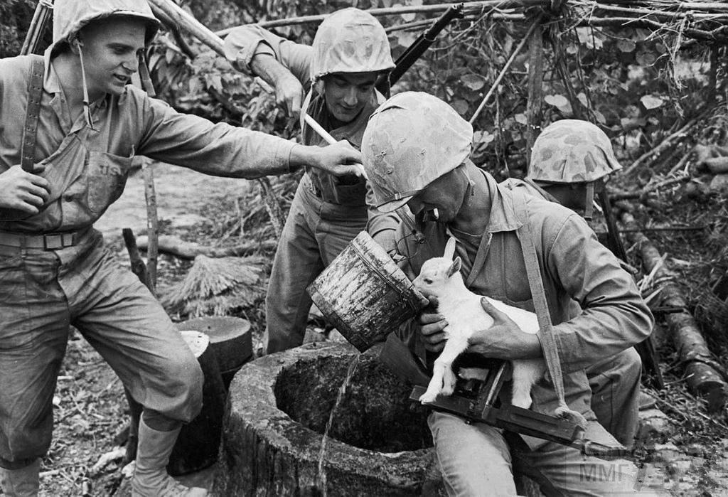 46106 - Военное фото 1941-1945 г.г. Тихий океан.