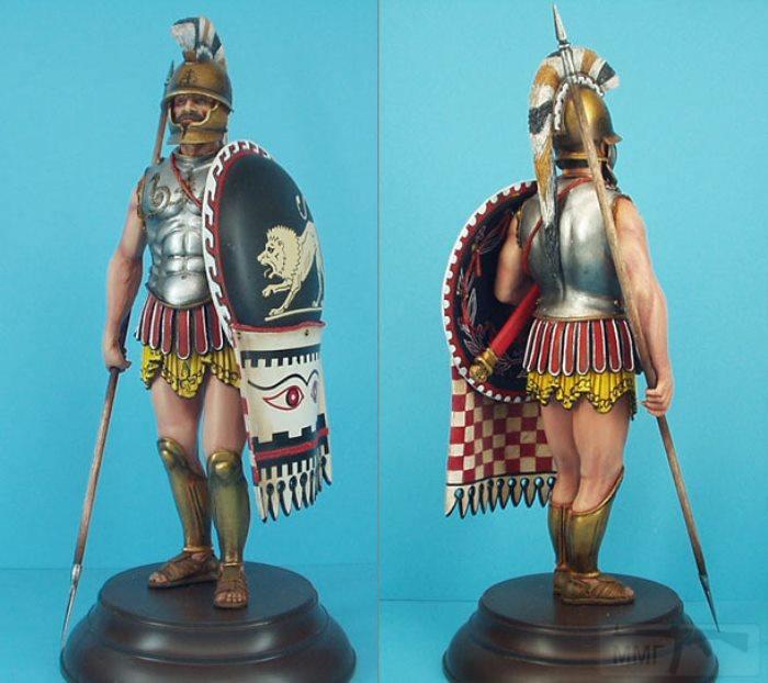 4678 - Гоплит – древнегреческий тяжёловооружённый пеший воин