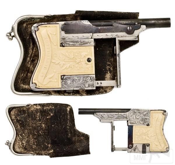 4709 - Французский пистолет-эспандер «Чудесный» (Squeeze Palm Pistol Le Merveilleux)