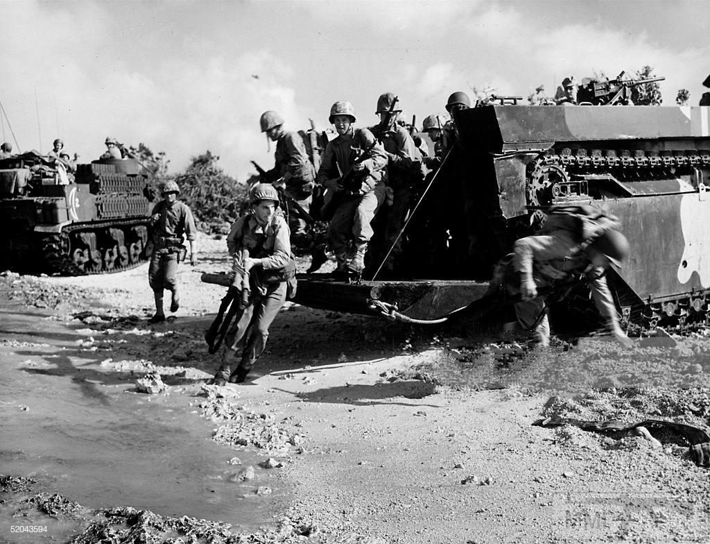 48435 - Военное фото 1941-1945 г.г. Тихий океан.