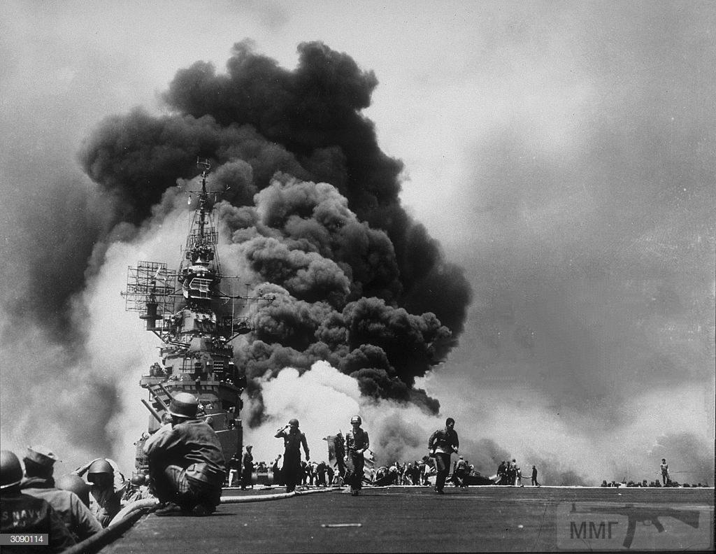 48438 - Военное фото 1941-1945 г.г. Тихий океан.