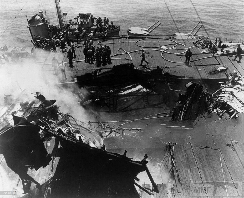 48439 - Военное фото 1941-1945 г.г. Тихий океан.