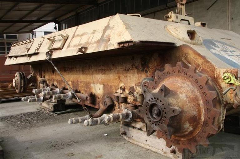 """4844 - Служба немецких """"коробочек"""" после войны..."""