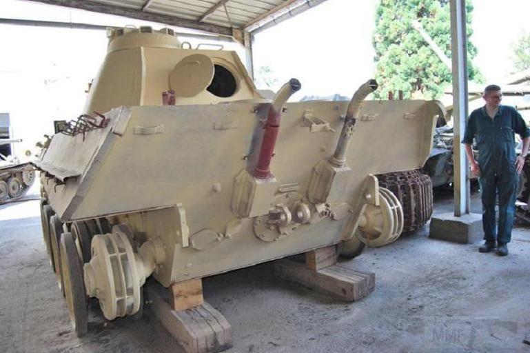"""4849 - Служба немецких """"коробочек"""" после войны..."""