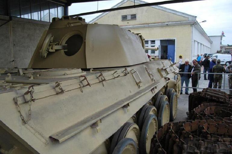 """4851 - Служба немецких """"коробочек"""" после войны..."""