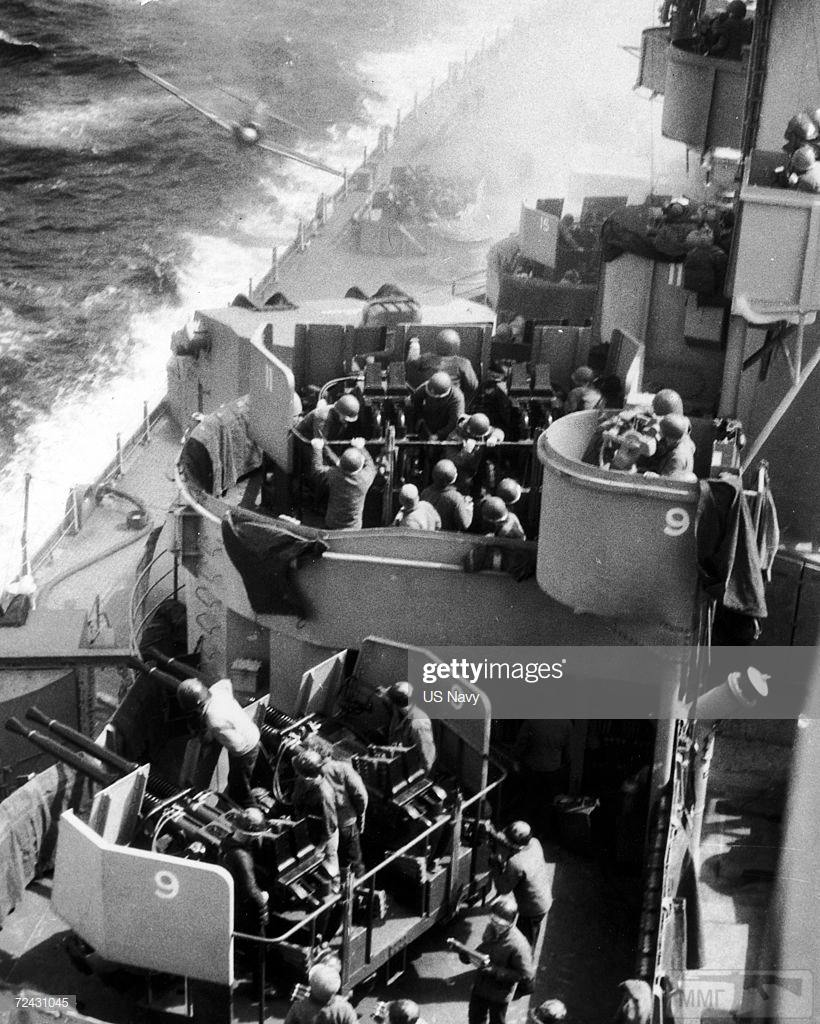 48540 - Военное фото 1941-1945 г.г. Тихий океан.