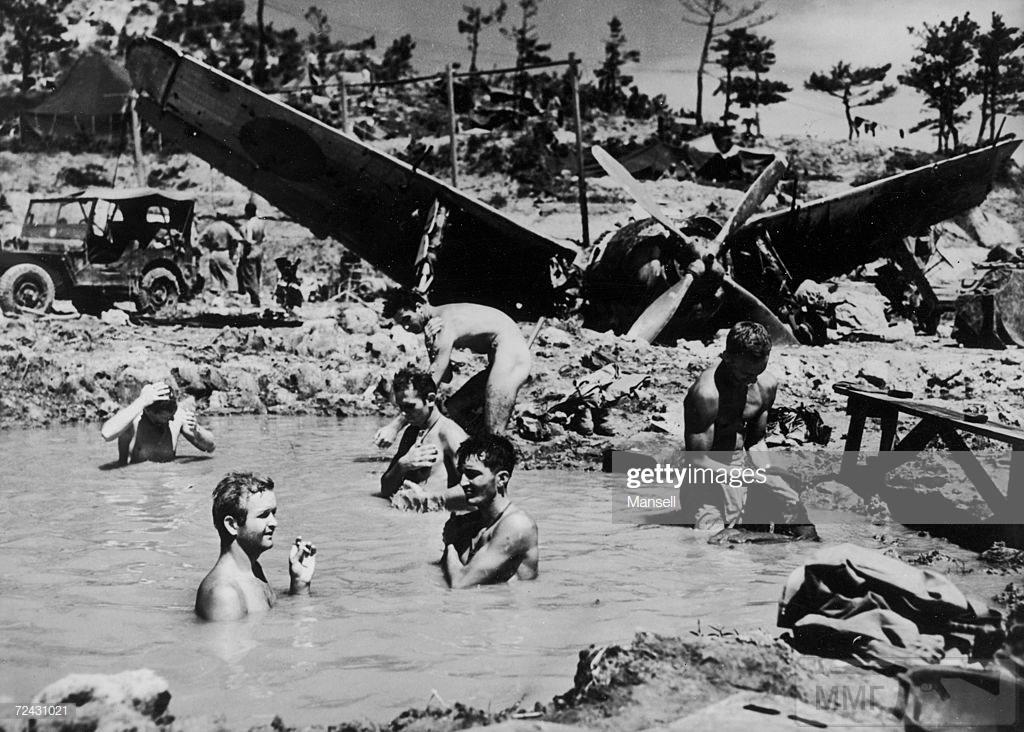 48542 - Военное фото 1941-1945 г.г. Тихий океан.