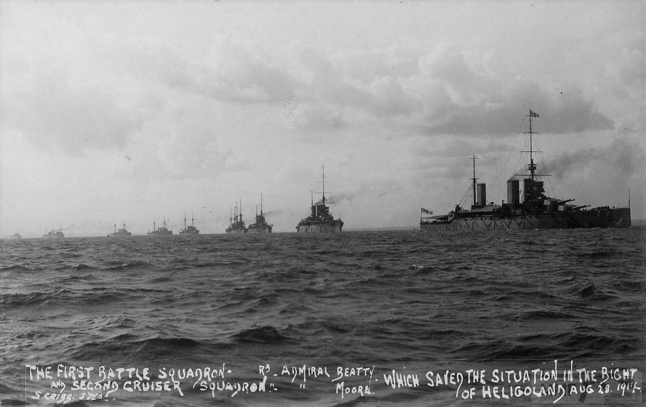 48564 - Броненосцы, дредноуты, линкоры и крейсера Британии