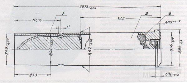 4860 - Патрон 7.62x38R с остроконечной пулей