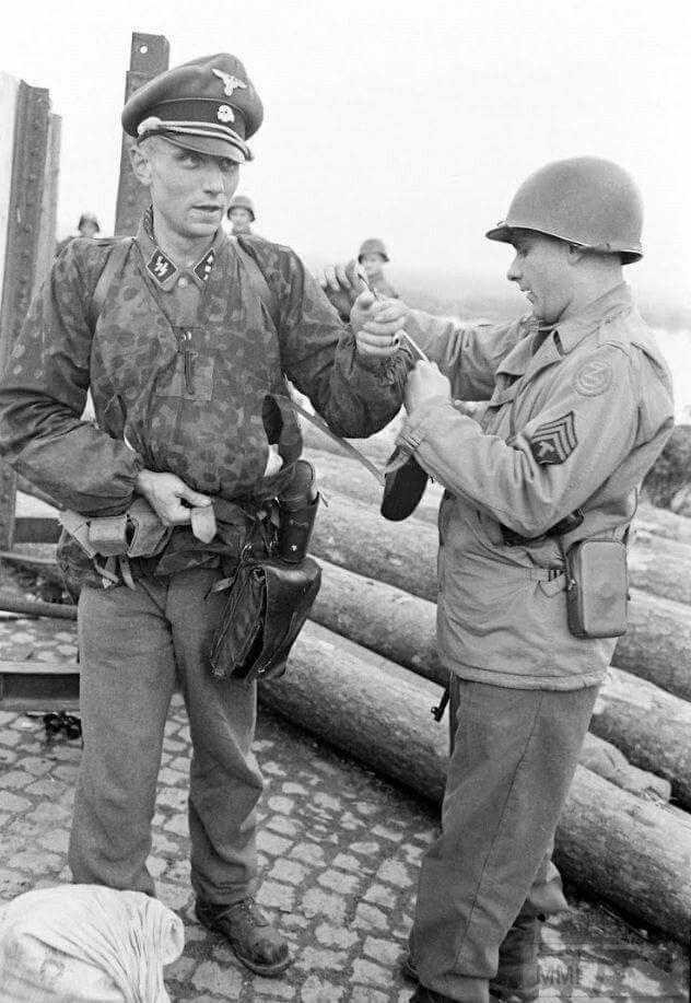48666 - Военное фото 1939-1945 г.г. Западный фронт и Африка.