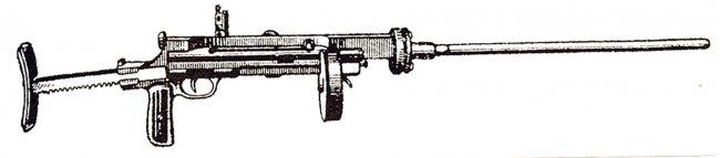 4885 - Пулемет Блюма.