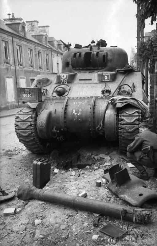 49097 - Военное фото 1939-1945 г.г. Западный фронт и Африка.