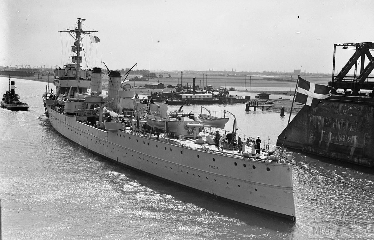 49465 - Шведский броненосный крейсер Fylgia, 1948 г.