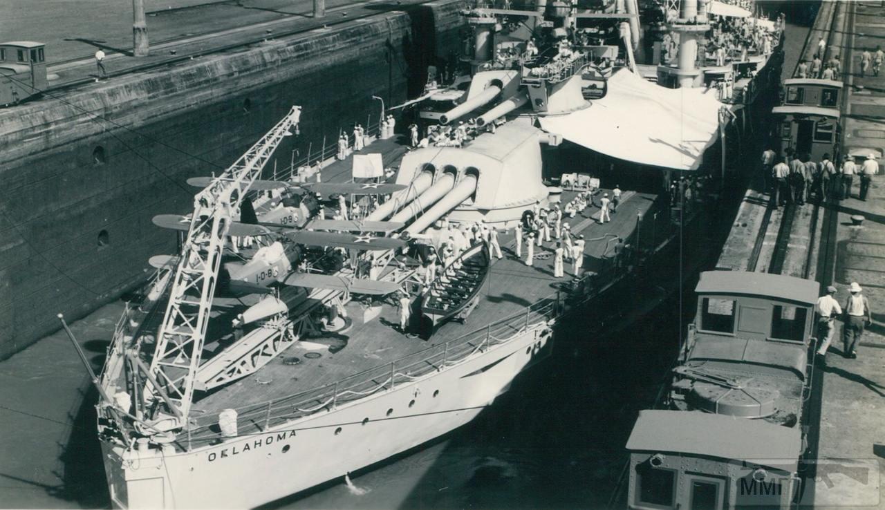 49481 - USS Oklahoma (BB-37)