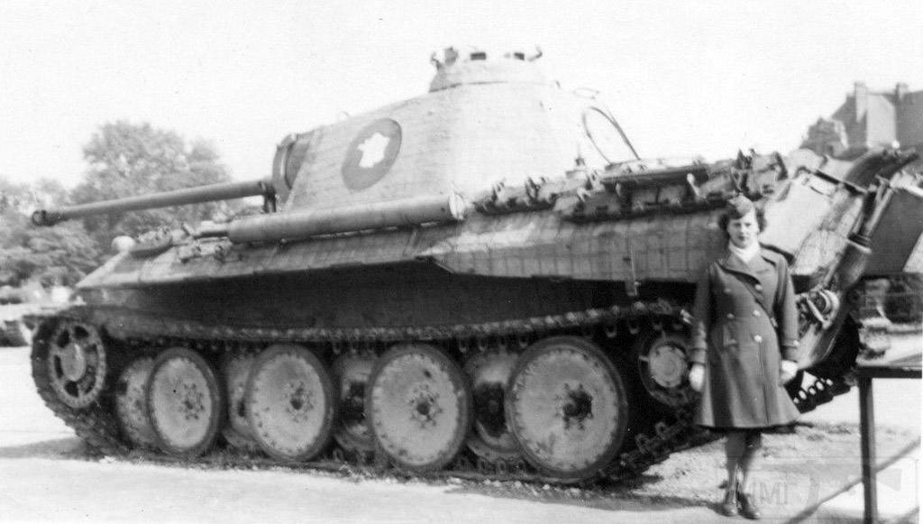 """4962 - Служба немецких """"коробочек"""" после войны..."""