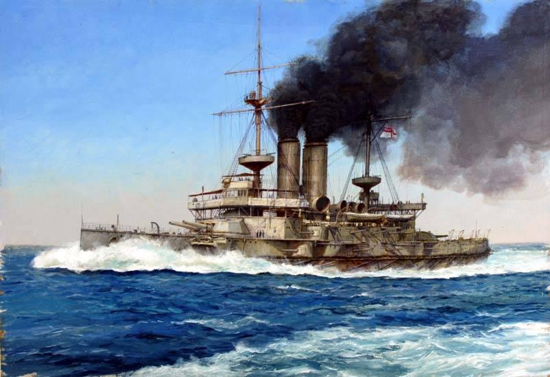 507 - Броненосцы, дредноуты, линкоры и крейсера Британии