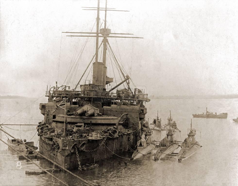 508 - Броненосцы, дредноуты, линкоры и крейсера Британии