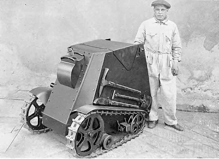 5121 - «Мотоминамет» MORAS вооружен 45-мм гранатометом «Brixia Modelo 35»