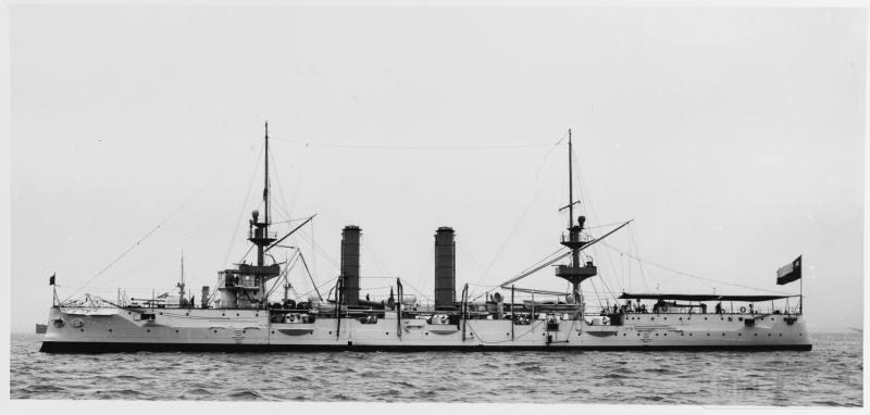 5127 - Chilean cruiser Ministro Zenteno