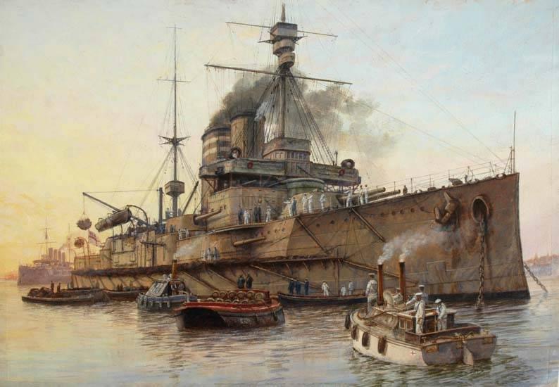 513 - Броненосцы, дредноуты, линкоры и крейсера Британии